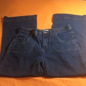 NWOT Christopher Banks Cotton blend wide leg jeans